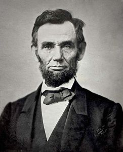 (photo from: http://en.wikipedia.org/wiki/File:Abraham_Lincoln_November_1863.jpg)