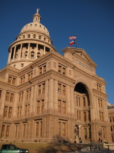 (photo from: http://en.wikipedia.org/wiki/File:Texas_State_Capitol1.JPG)
