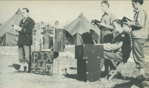 Chaplain Scheufler in Tunisia