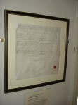Coke's Ordination Certificate