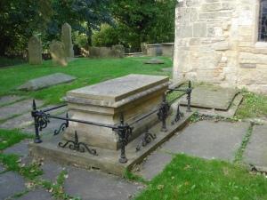 Samuel Wesley's grave