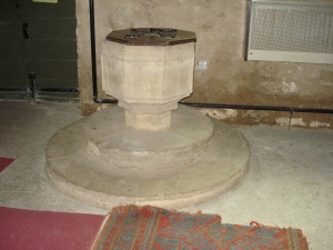 St. Andrews Church Baptism Font