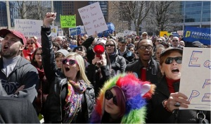 Indiana RFRA Protesters