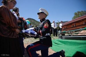 graveside flag presentation